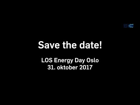 Save the date! LOS Energy Day 2017 i Oslo