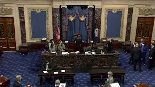 Vice President Kamala Harris new Senators Swearing-In