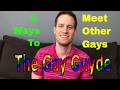 How to Meet Other Gay People