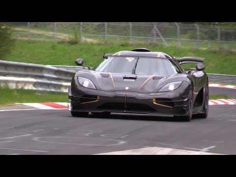 Watch the Koenigsegg One:1 Return to the Nurburgring
