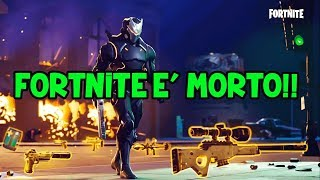 FORTNITE IS MORTO - ECCO THE PATCH NOTES 10.20