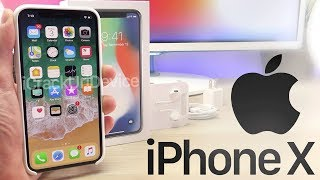 iPhone 10: Unboxing and Review! (Hands On Setup)