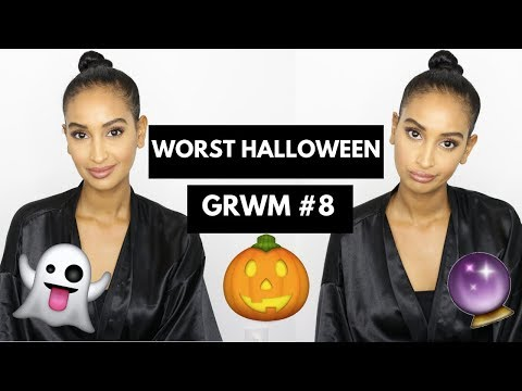 HALLOWEEN SUCKS!!!!!| Easy Makeup Look| GRWM #8| Segen Misghina