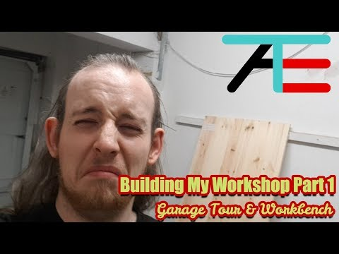 Building My Workshop Part 1: Garage Tour and Workbench