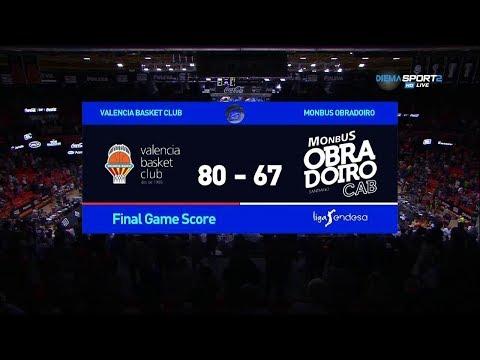 Valencia Basket Vs Monbus Obradoiro (J2 ACB 17/18)