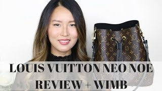 LOUIS VUITTON NEO NOE review 2018 | What's in my bag