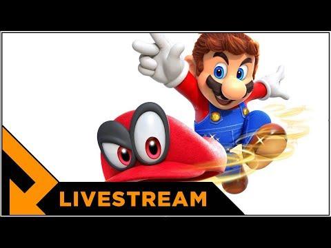 Level Up streamer Super Mario Odyssey endgame (opptak)