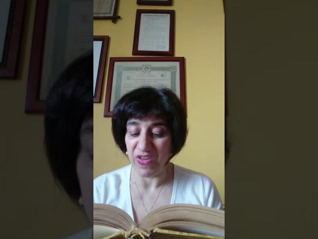Maria Antonietta Ferraloro legge... Giuseppe Tomasi di Lampedusa: