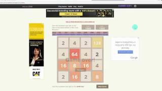 Bitcoin 2048 играй в любимую игру и зарабатывай  Заработок в интернете!