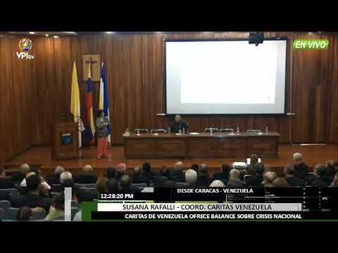 Venezuela. Caritas Venezuela ofreció un balance de la crisis en el país -VPItv