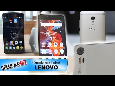 4 Smartphone Terbaik Lenovo