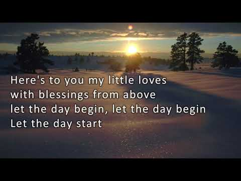 The Call - Let The Day Begin with Lyrics