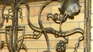 Красивая кованая виноградная лоза из металла,  элементы для дизайна декор решетки ковка(посмотреть http://kovka-dveri.com .. Красивая кованая виноградная лоза из металла, интересные элементы для дизайна..., 2016-09-28T12:15:55.000Z)