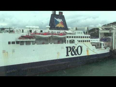 """Onboard P&O Ferries """"Spirit of Britain"""". Dover, England, UK to Calais, France"""