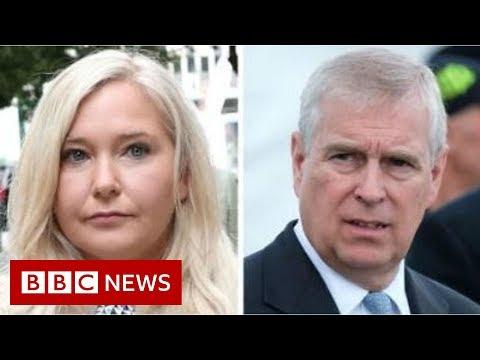 Epstein accuser stands by her allegations - BBC News