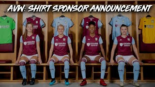 Behind-the-scenes: Aston Villa Women's first Official Partners