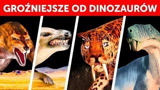 Największe prehistoryczne ssaki, przy których dinozaury wyglądają jak szczeniaczki