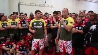 Venum Seminars with Wanderlei, José Aldo & Shogun - PARIS