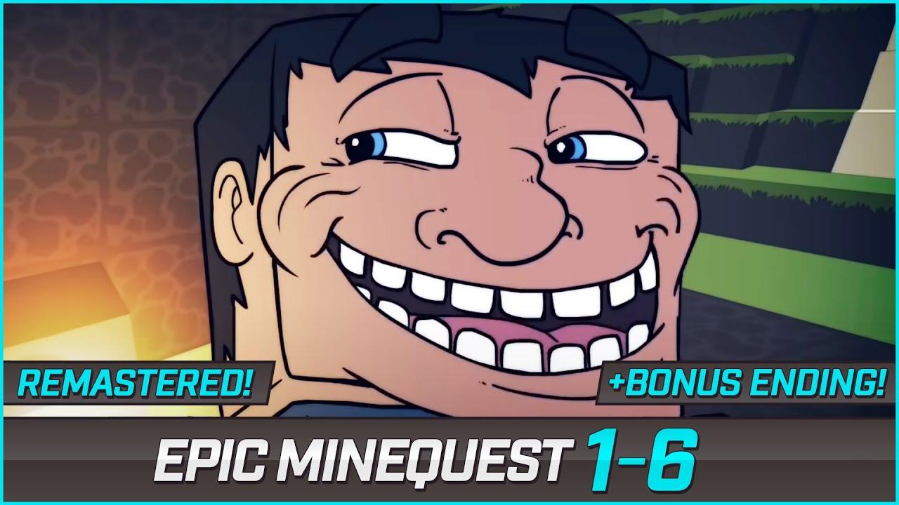Download Epic Minequest 1-6 + Bonus Ending   Remastered Version