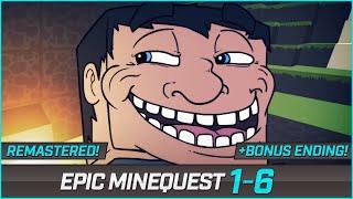 EPIC MINEQUEST 1-6 BONUS ENDING! By Sam Green Media