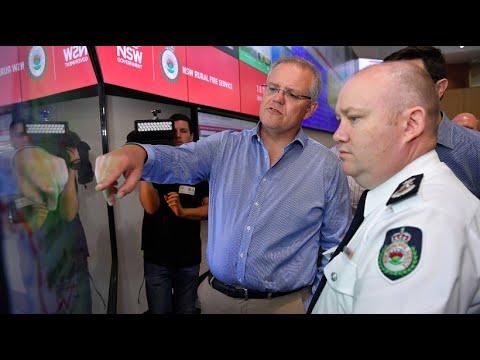 Buschbrände In Australien: Morrison Entschuldigt Sich Für Urlaubstrip