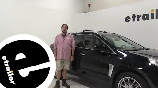Thule Roof Rack Review - 2014 Cadillac SRX