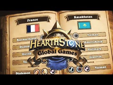La France contre le Kazakhstan aux HGG Hearthstone !