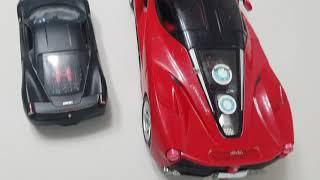 페라리 큰 자동차 작은 자동차 구별