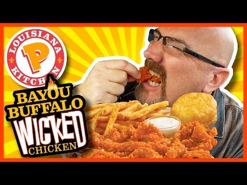 Popeyes Louisiana Kitchen - Bayou Buffalo Wicked Chicken Review