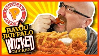 Popeyes Louisiana Kitchen - Bayou Buffalo Wicked Chicken Review
