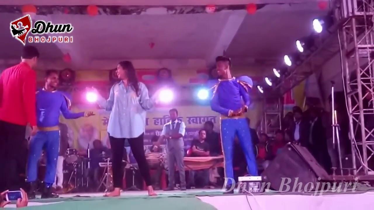 #Kajal raghwani stage show #chinkan saman