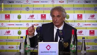 FC Nantes - Amiens SC : la réaction des entraîneurs