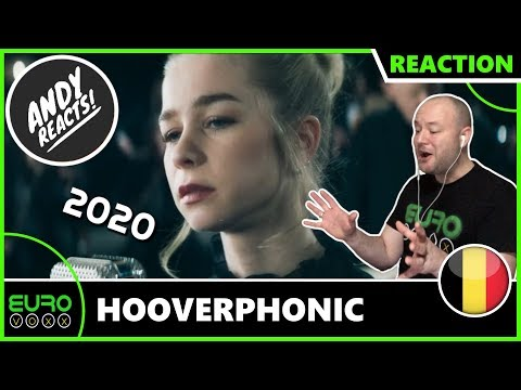 BELGIUM EUROVISION 2020 REACTION: Hooverphonic - Release Me | ANDY REACTS!