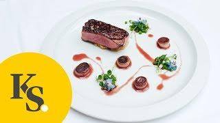 Glasierte Entenbrust mit Steckrübenstampf | Gourmet-Rezept für ein festliches Menü