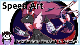Speedart: Pokefusion Sylvoroark