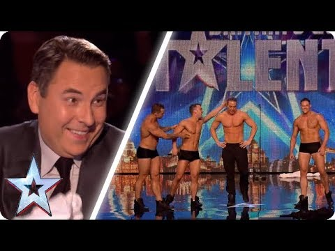 These dancers make David blush! | Britain's Got Talent Unforgettable Audition