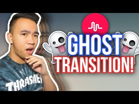 MUSICAL.LY GHOST TRANSITION TUTORIAL! *NEW*