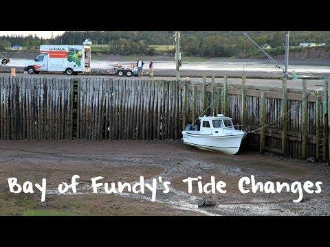 Bay Of Fundy's Radical Tide Swings