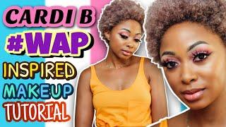 TUTORIAL: Cardi B #WAP Inspired Makeup