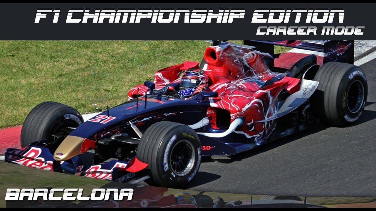 Formula One Championship Edition Career Mode - Round 6 Spanish Grand Prix