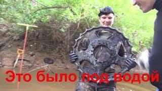 Каски, амуниция и техника под водой Раскопки на Железной реке
