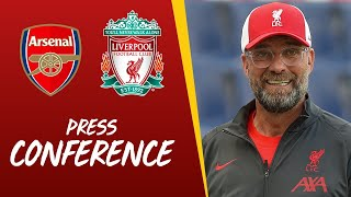 Jürgen Klopp's pre-Community Shield press conference