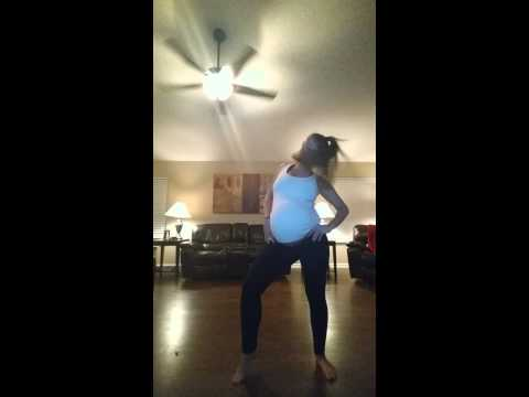 Download Youtube: Dancing at 41 weeks pregnant to Beyonce