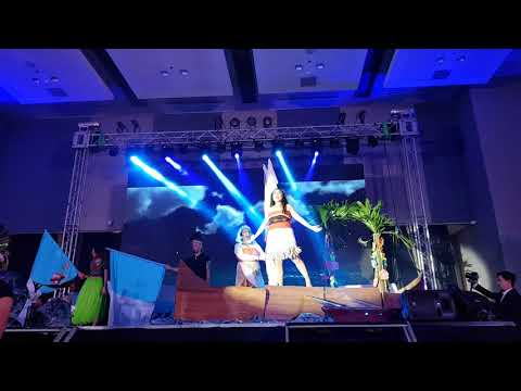 Moana musical stage play