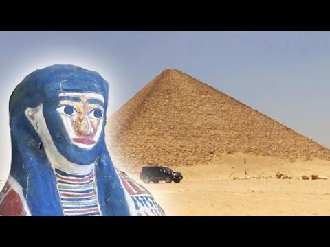 Lance Houston - Archaeologists Undercover Sarcophagi Full of Mummies Near Egyptian Pyramids