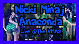 "Nicki Minaj Performs ""Anaconda"" (Live?) 2014 MTV Video Music Awards Review"