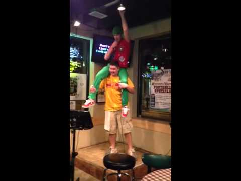Wrecking ball. DQ karaoke!