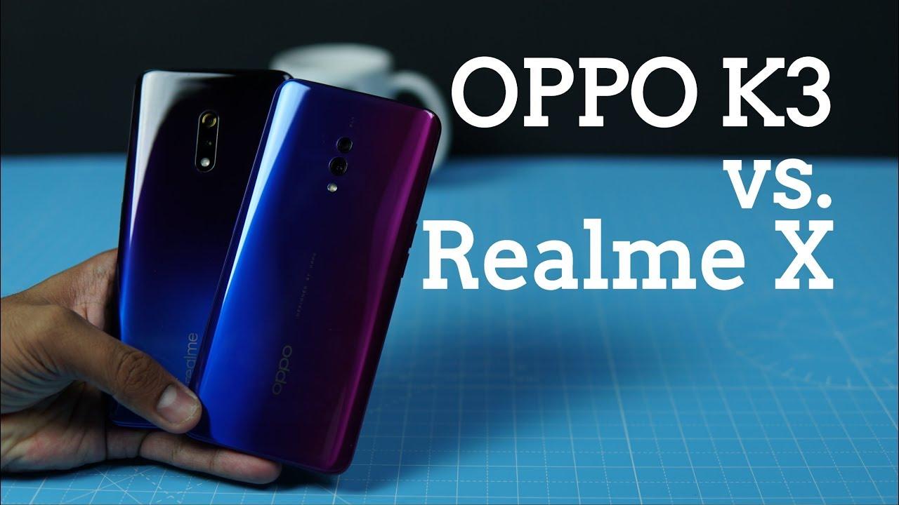Tube Reader | OPPO K3 vs Realme X Comparison - What are the