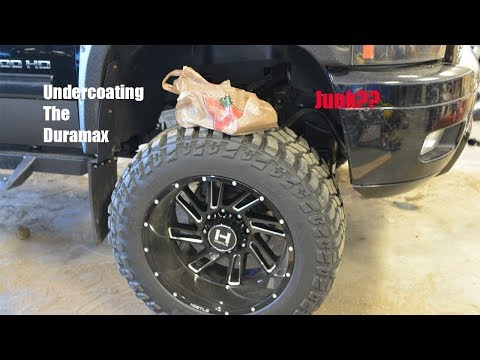 How To Undercoat A Truck(Easy Way!!)