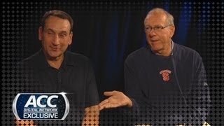 Coach K and Jim Boeheim Exclusive Interview on New Look ACC | ACCDigitalNetwork